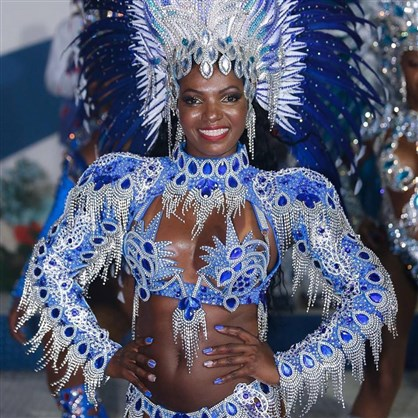 Passista da Portela vai disputar final do concurso Rei Momo e Rainha do Carnaval Rio 2019